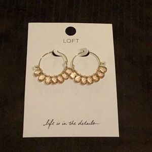 Brand new with tags Loft earrings